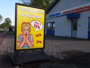 Leegverkoop Showroom Workwear